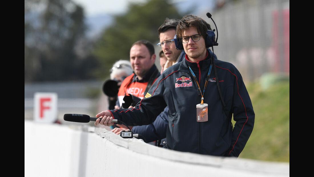 Toro Rosso - Formel 1-Test - Barcelona - 3. März 2016