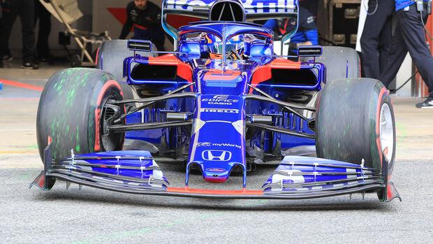 Toro Rosso - Frontflügel - Barcelona-Test - 2019