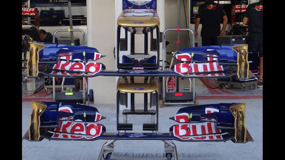 Toro Rosso Frontflügel  - Formel 1 - GP Abu Dhabi - 01. November 2012