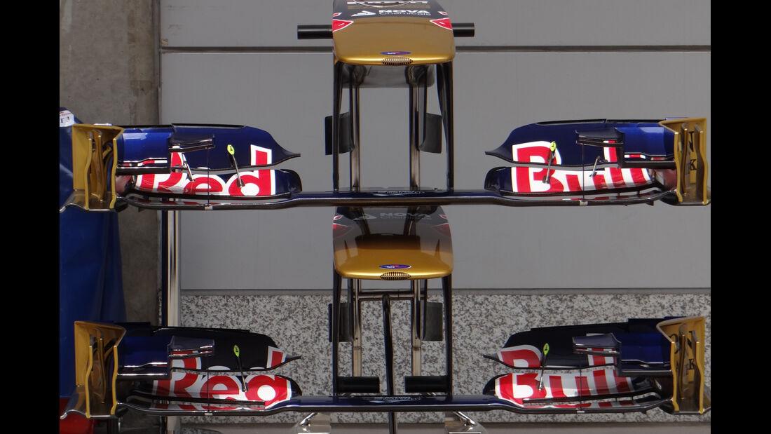Toro Rosso Frontflügel - Formel 1 - GP China - 11. April 2013