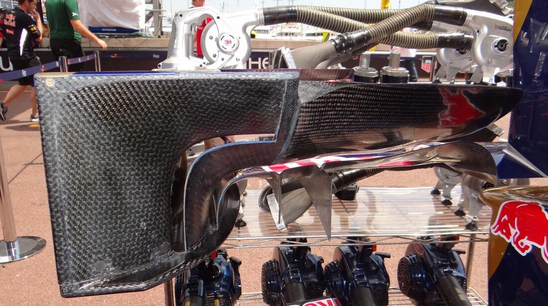 Toro Rosso-Frontflügel - Formel 1 - GP Monaco - 24. Mai 2012