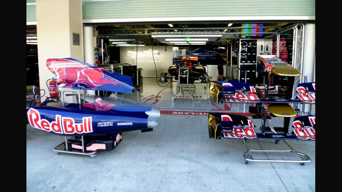 Toro Rosso - GP Abu Dhabi - 10. November 2011