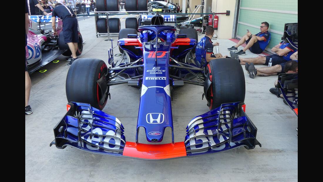 Toro Rosso - GP Abu Dhabi - Formel 1 - 22. November 2018