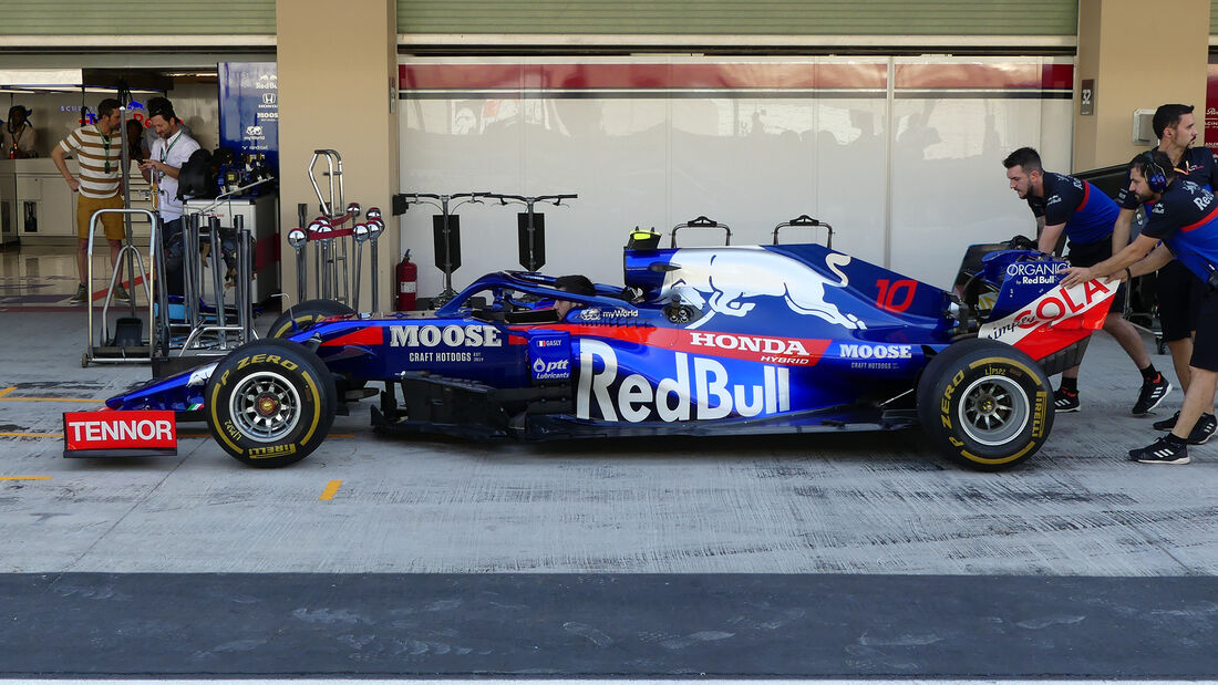 Toro Rosso - GP Abu Dhabi - Formel 1 - Freitag - 29.11.2019
