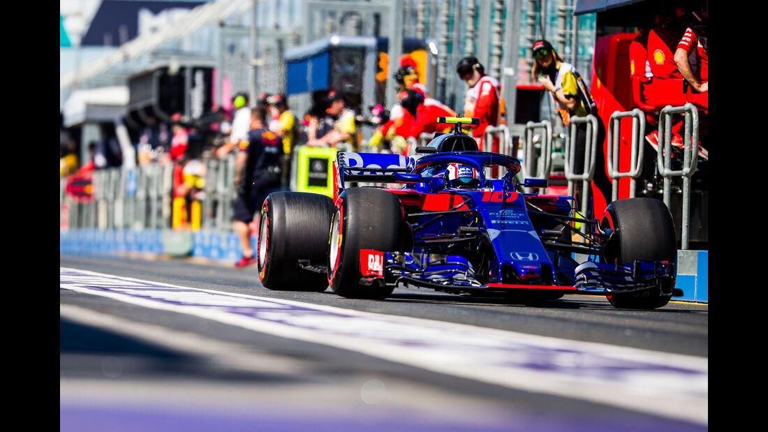 Toro Rosso - GP Australien 2018