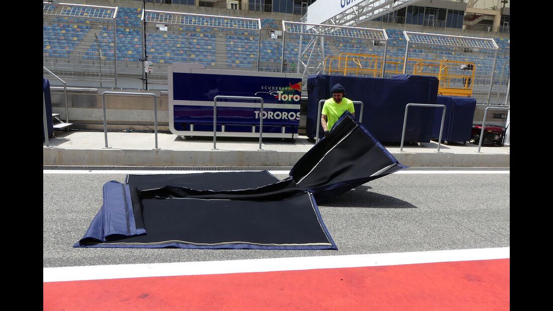 Toro Rosso - GP Bahrain - Sakhir - Mittwoch - 12.04.2017