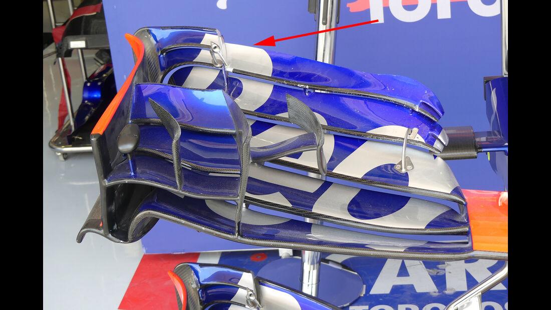 Toro Rosso - GP Bahrain - Technik - Formel 1 - 2017