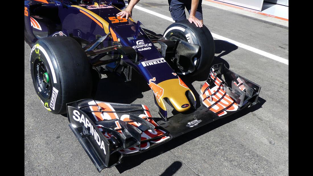 Toro Rosso - GP Belgien 2016 - Spa-Francorchamps - Donnerstag - 25.8.2016