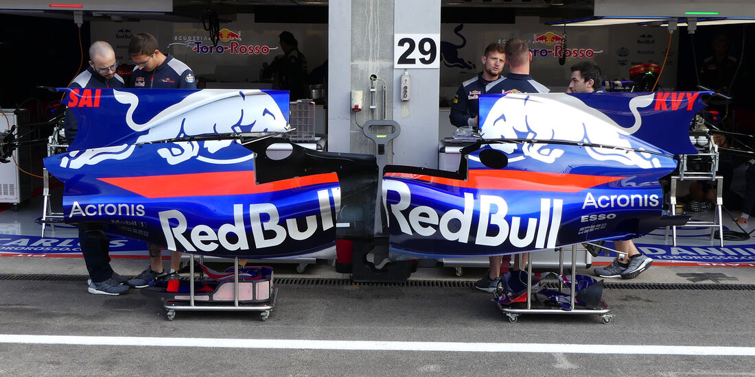 Toro Rosso - GP Belgien - Spa-Francorchamps - Formel 1 - 24. August 2017