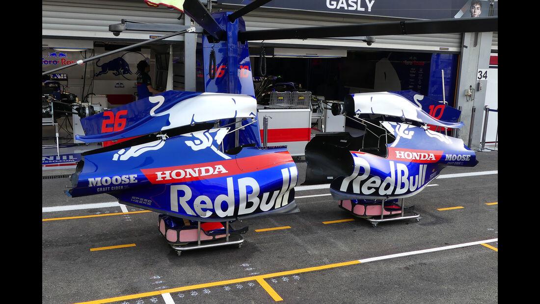 Toro Rosso - GP Belgien - Spa-Francorchamps - Formel 1 - Donnerstag - 29.8.2019