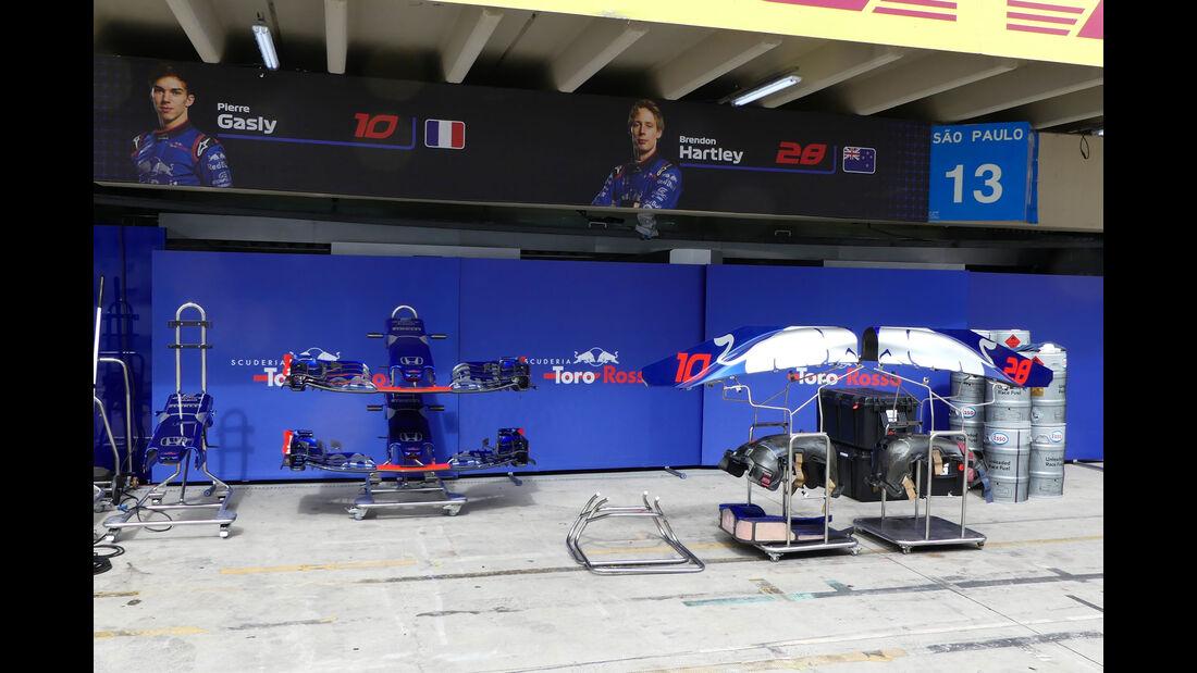 Toro Rosso - GP Brasilien - Interlagos - Formel 1 - Mittwoch - 7.11.2018
