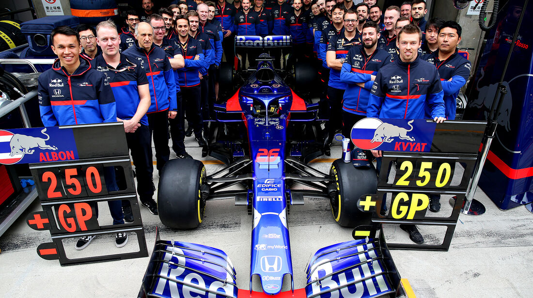 Toro Rosso - GP China 2019