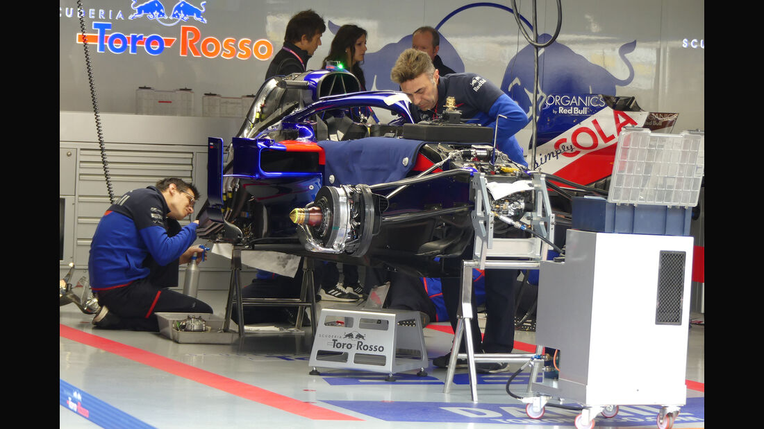 Toro Rosso - GP China - Shanghai - Formel 1 - Donnerstag - 11.4.2019