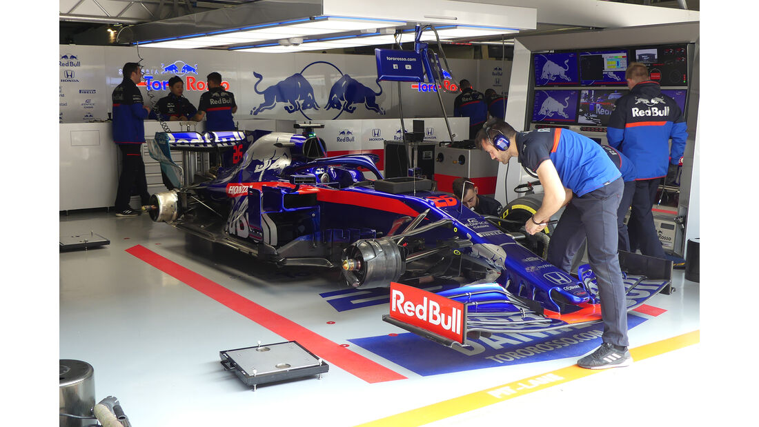 Toro Rosso - GP China - Shanghai - Formel 1 - Freitag - 12.4.2019