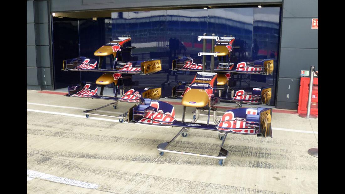 Toro Rosso - GP England - Silverstone - Do. 7. Juli 2011
