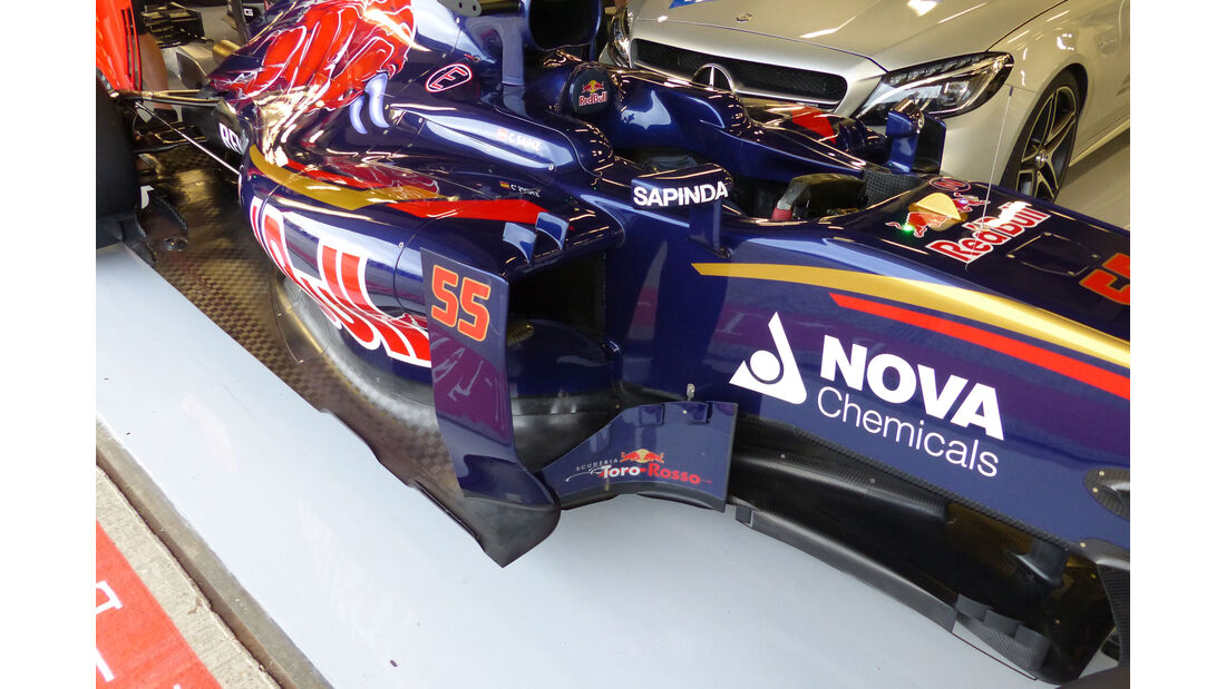 Toro Rosso - GP England - Silverstone - Donnerstag - 2.7.2015