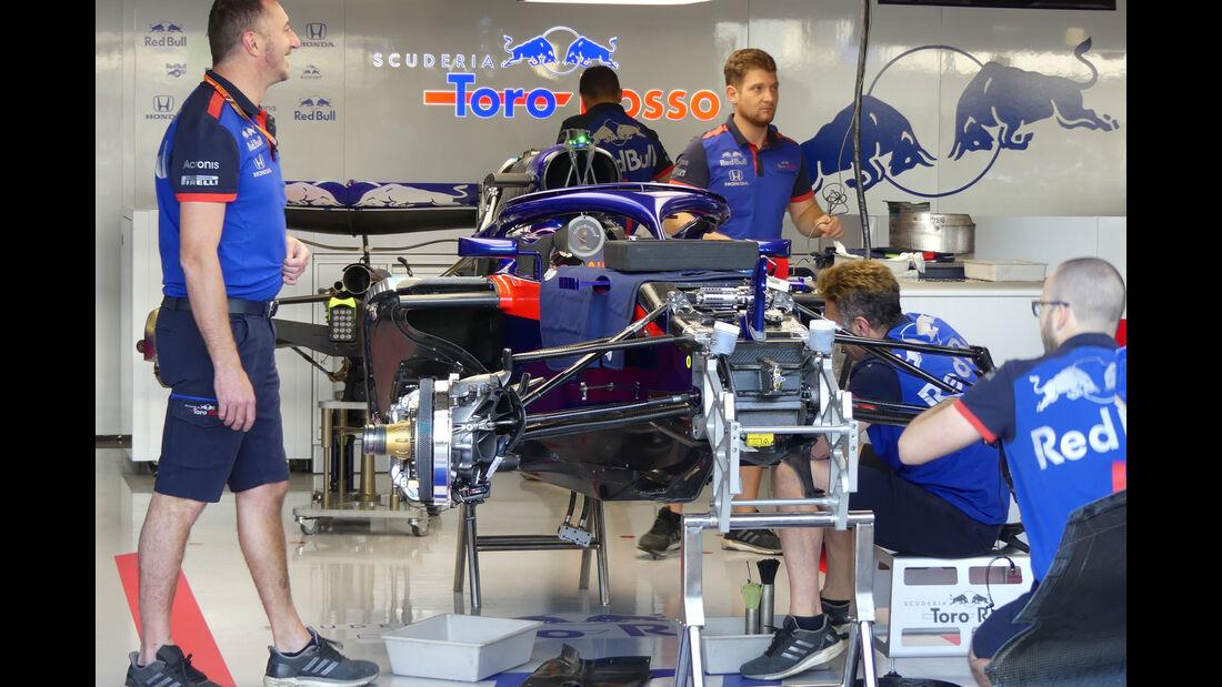 Toro Rosso - GP England - Silverstone - Formel 1 - Donnerstag - 5.7.2018