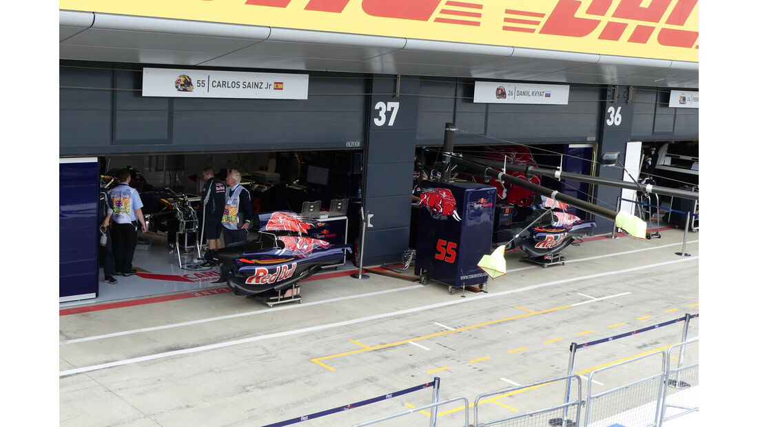 Toro Rosso - GP England - Silverstone - Formel 1 - Donnerstag - 7.7.2016