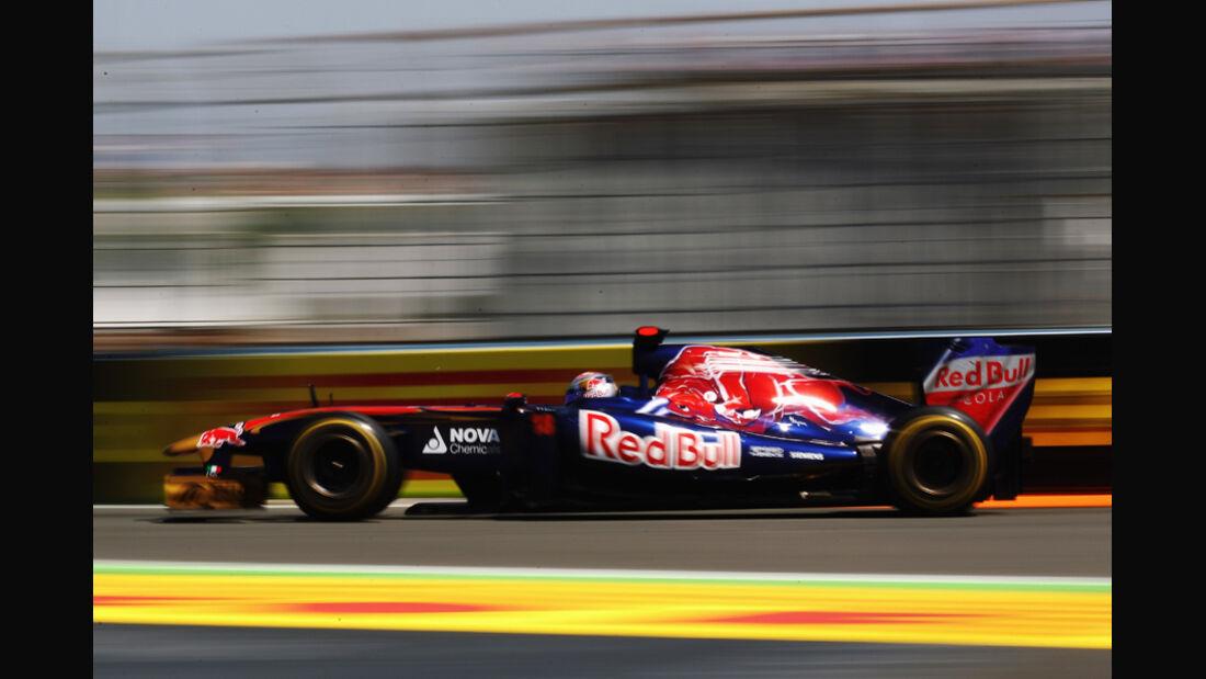 Toro Rosso GP Europa Valencia 2011