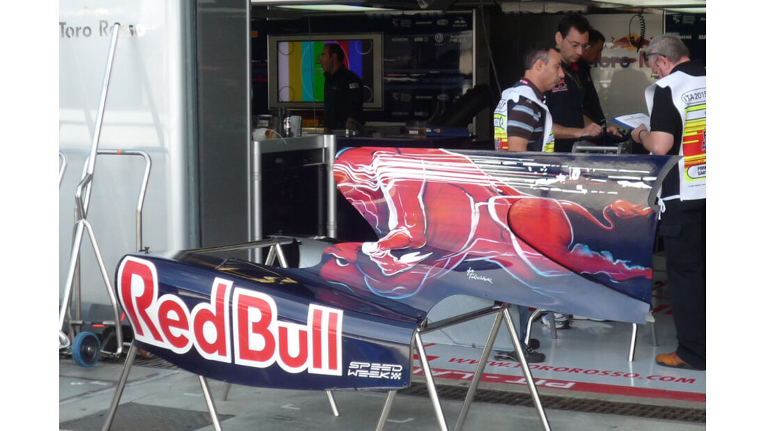 Toro Rosso GP Italien 2012