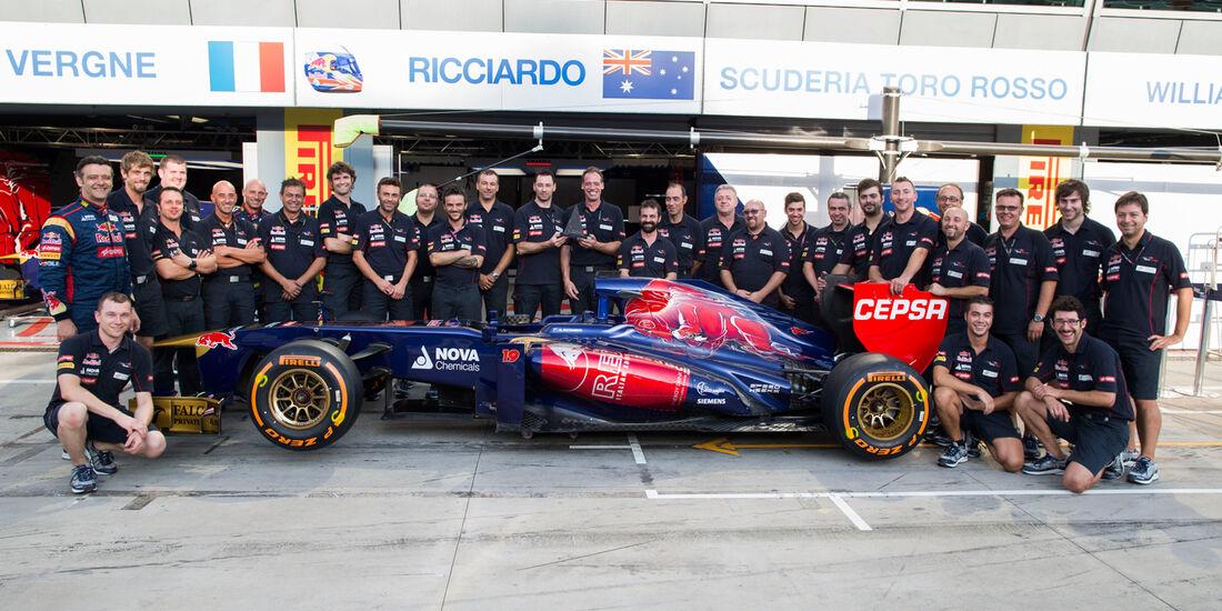 Toro Rosso - GP Italien 2013