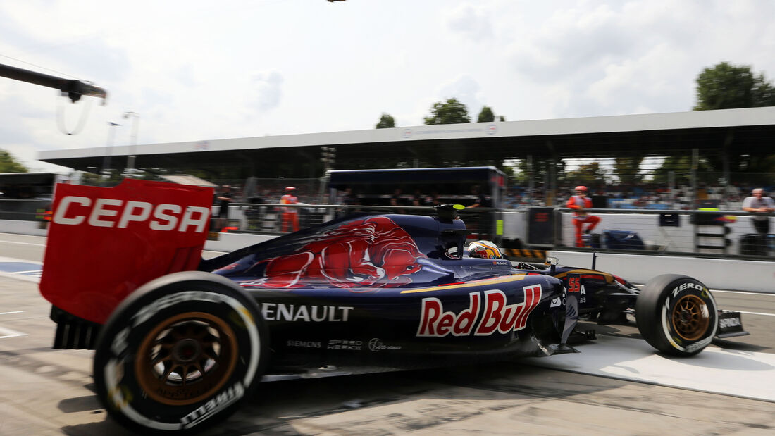 Toro Rosso - GP Italien 2015