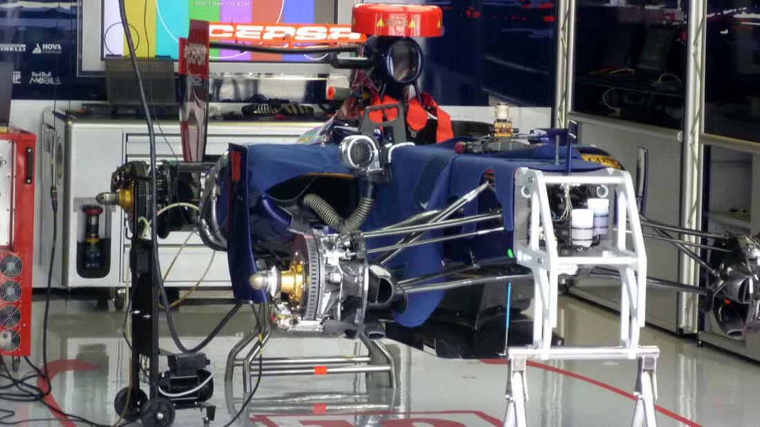 Toro Rosso - GP Italien - 8. September 2011