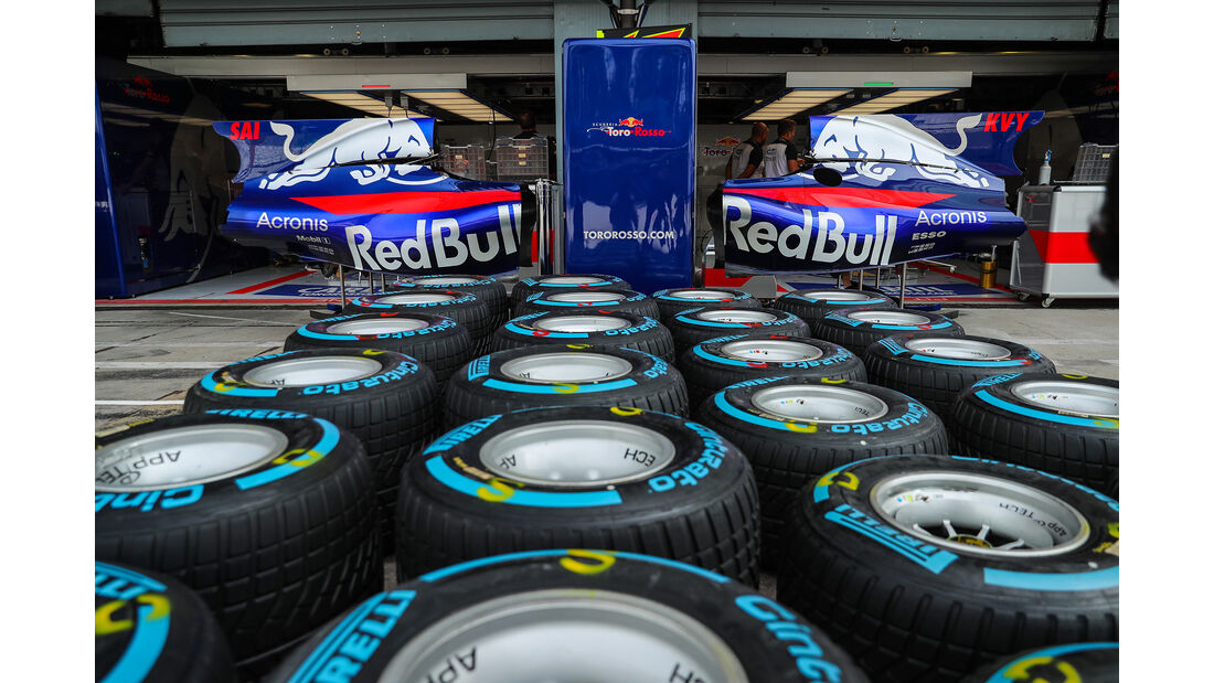 Toro Rosso - GP Italien - Monza - Formel 1 - 31. August 2017