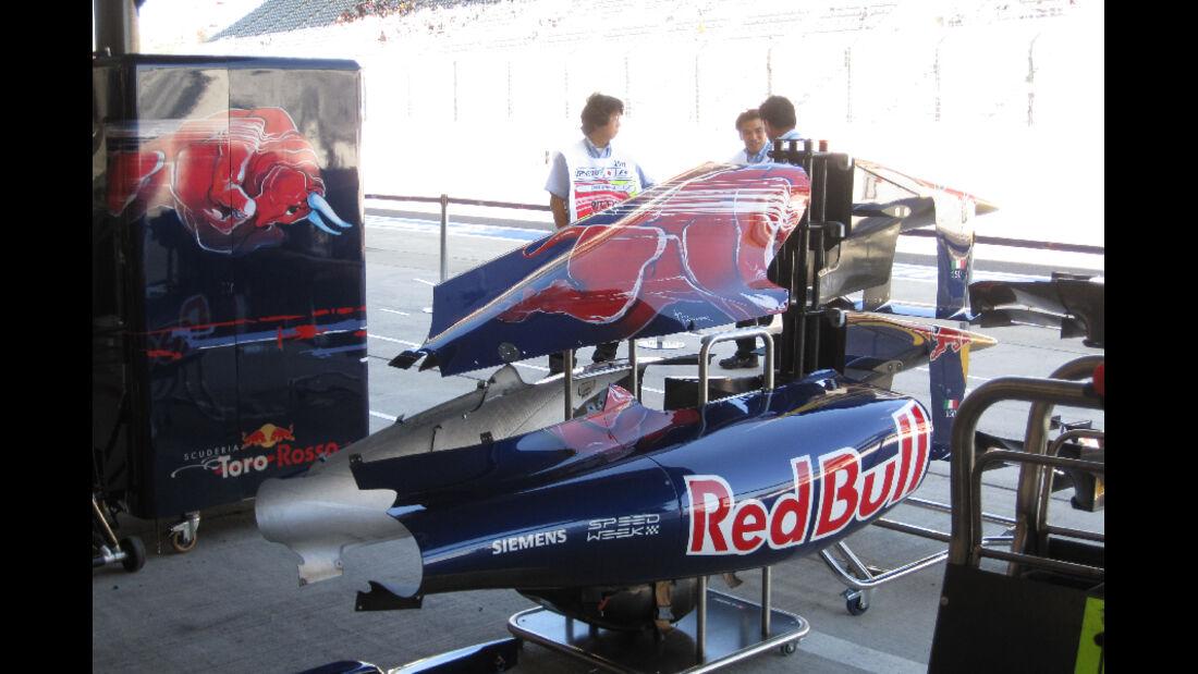 Toro Rosso - GP Japan - Suzuka - 6. Oktober 2011