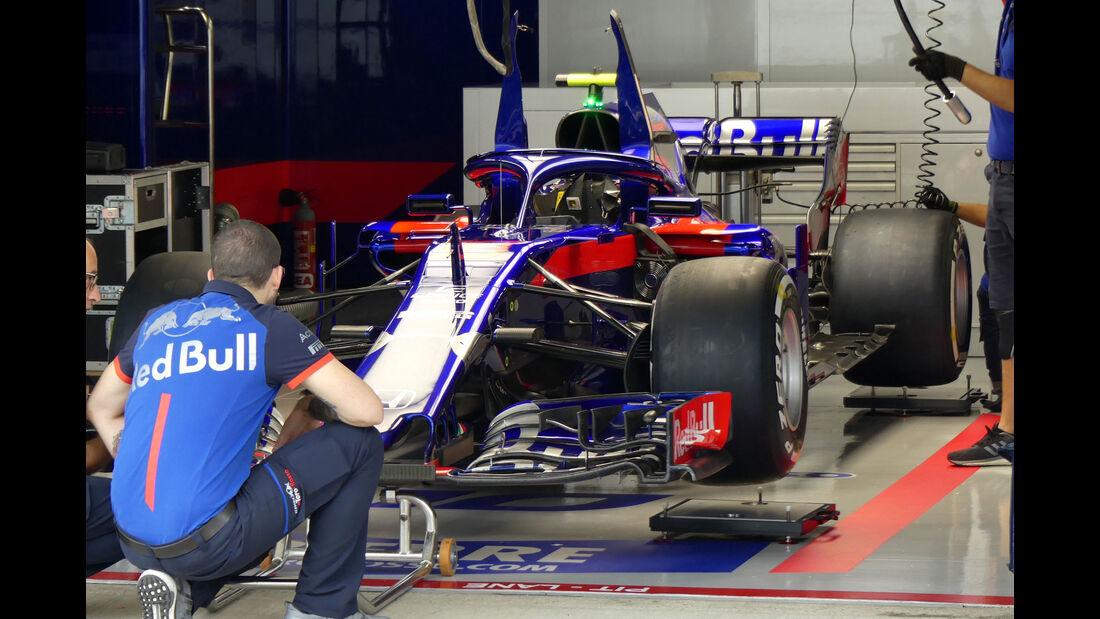 Toro Rosso - GP Japan - Suzuka - Formel 1 - Freitag - 5.10.2018