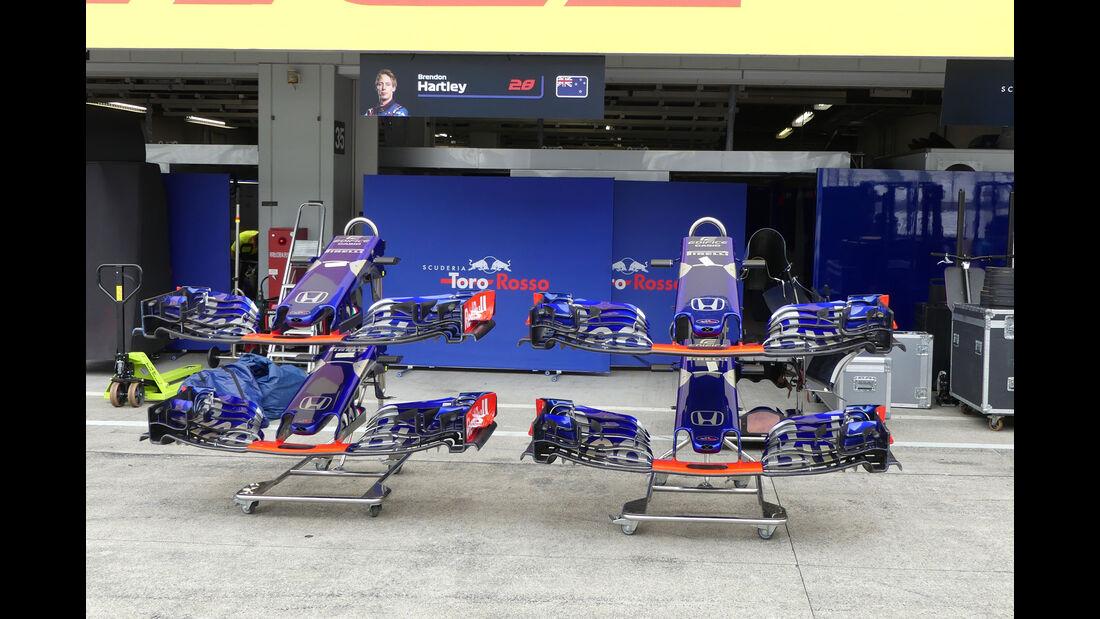Toro Rosso - GP Japan - Suzuka - Mittwoch - 3.10.2018