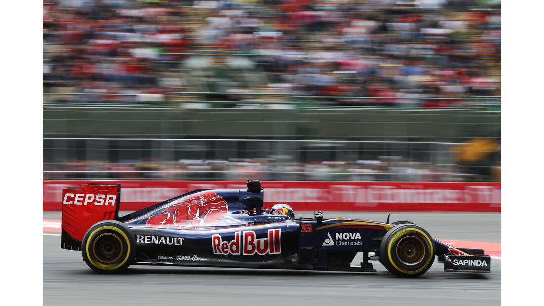 Toro Rosso - GP Mexiko 2015