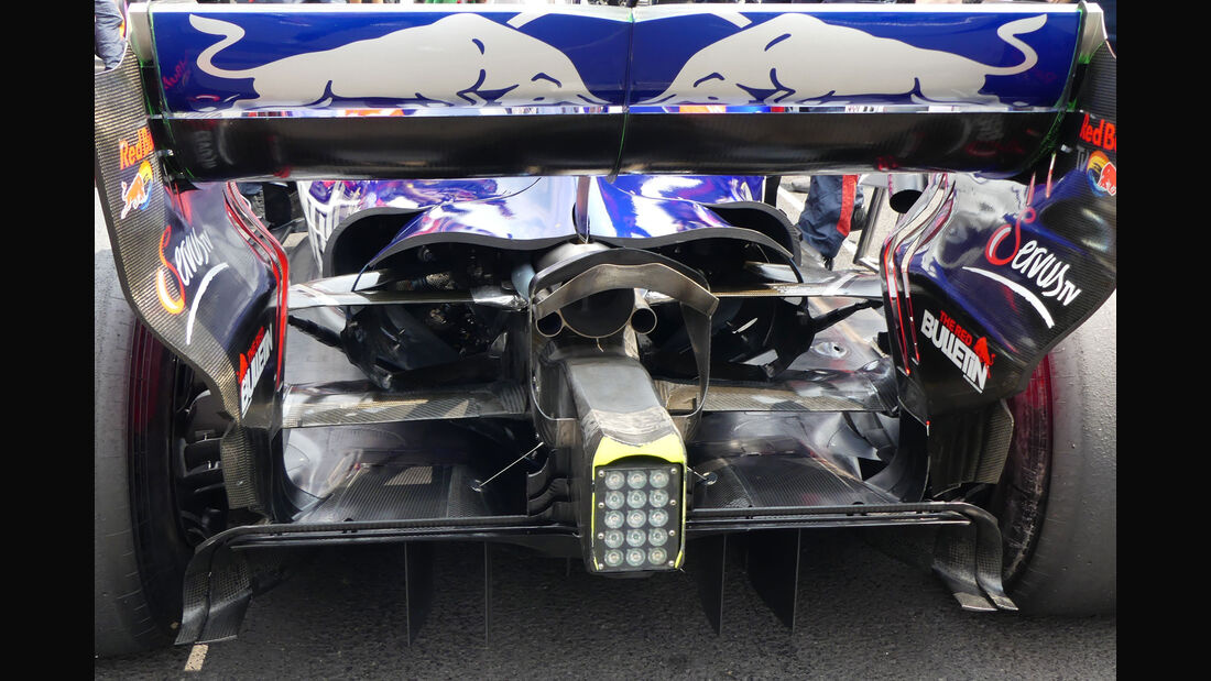 Toro Rosso - GP Mexiko 2017