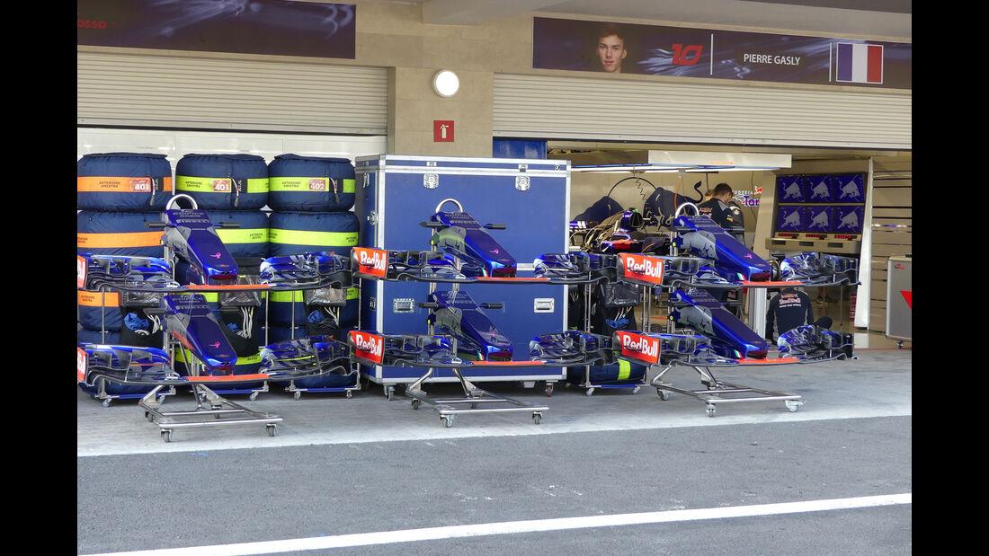 Toro Rosso - GP Mexiko - Formel 1 - Donnerstag - 26.10.2017