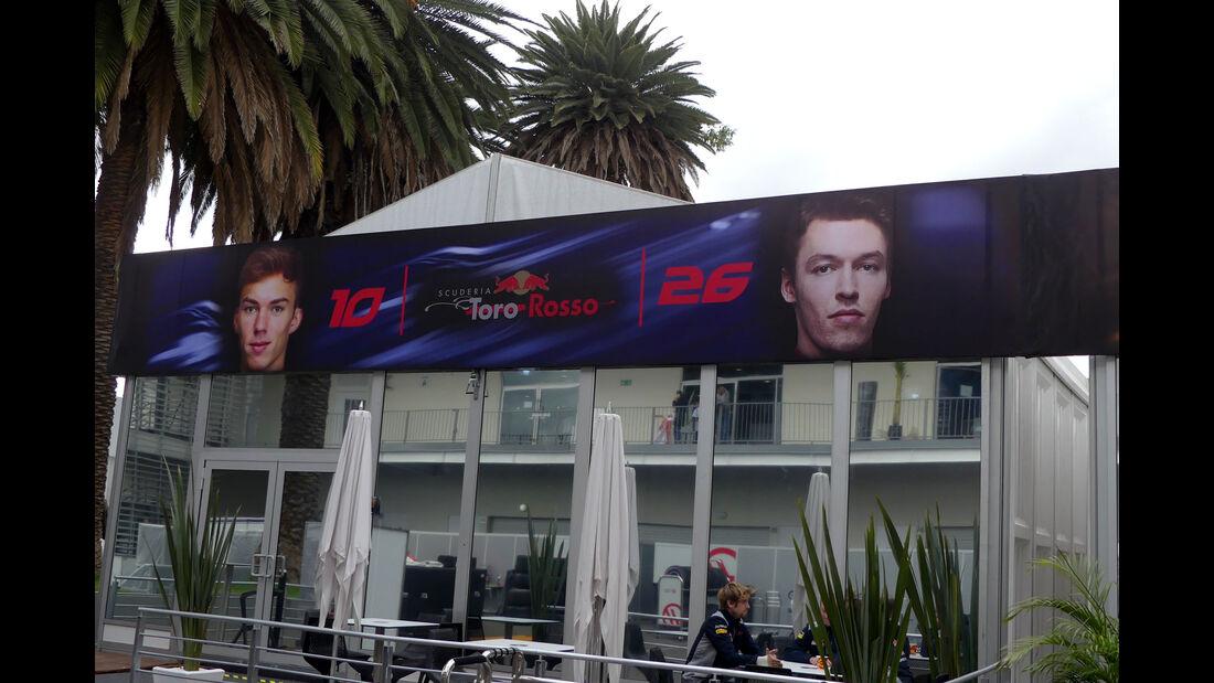 Toro Rosso - GP Mexiko - Formel 1 - Mittwoch - 25.10.2017