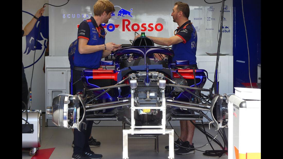 Toro Rosso - GP Monaco - Formel 1 - Mittwoch - 23.5.2018