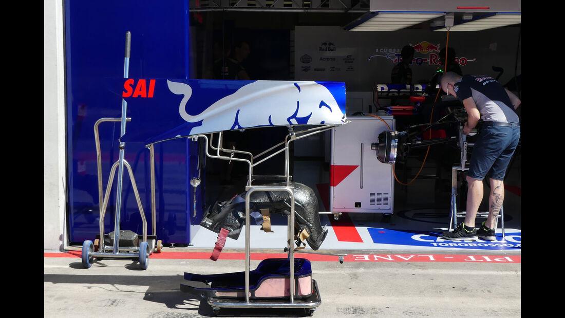 Toro Rosso - GP Österreich 2017 - Spielberg - Formel 1 - Donnerstag - 6.7.2017