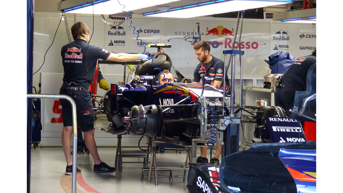 Toro Rosso - GP Russland - Sochi - Freitag - 9.10.2015