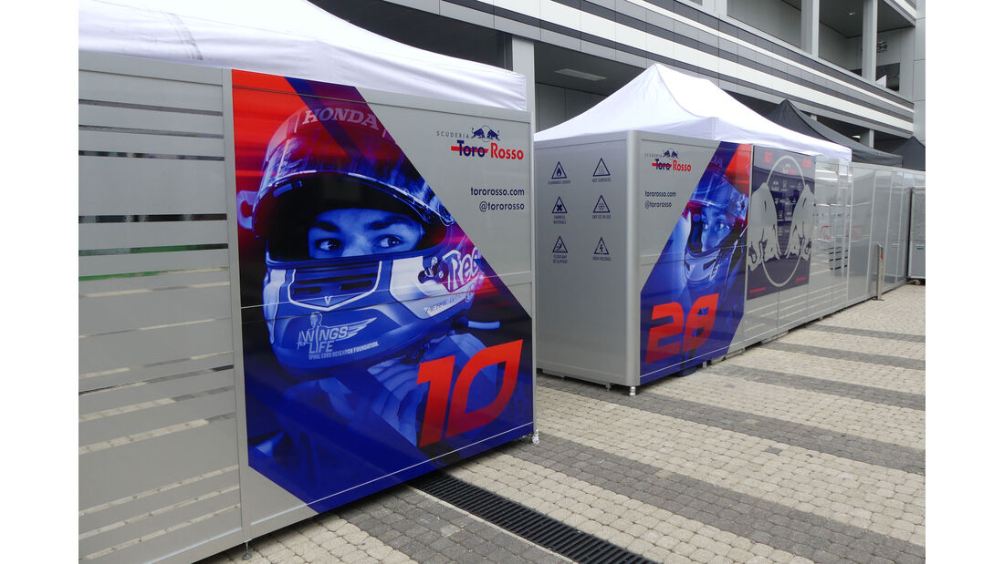 Toro Rosso - GP Russland - Sotschi - Formel 1 - Mittwoch - 26.09.2018