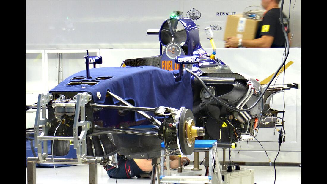 Toro Rosso - GP Singapur - Formel 1 - 16. September 2015