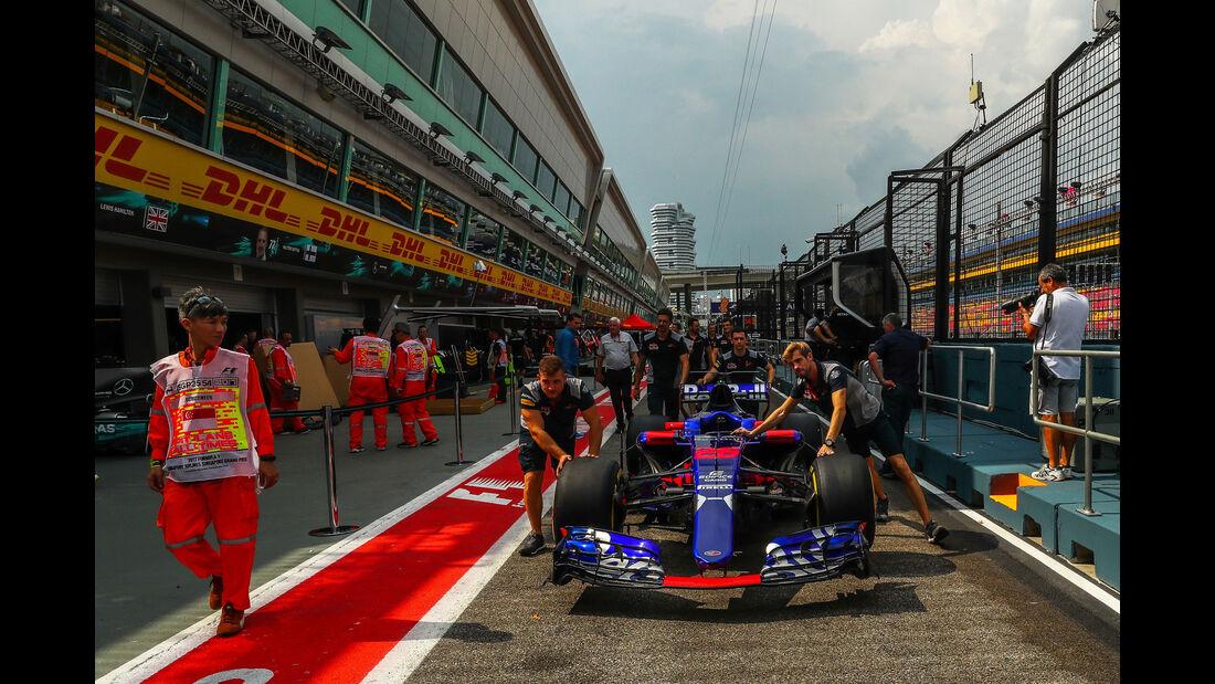Toro Rosso - GP Singapur - Formel 1 - Donnerstag - 14.9.2017