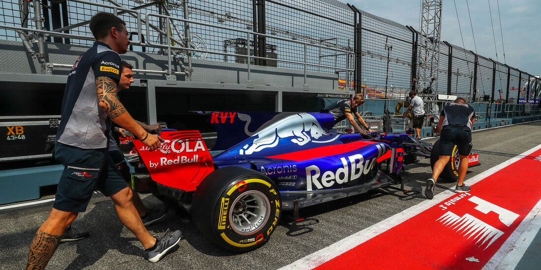 Toro Rosso - GP Singapur - Formel 1 - Donnerstag - 14.9.2017