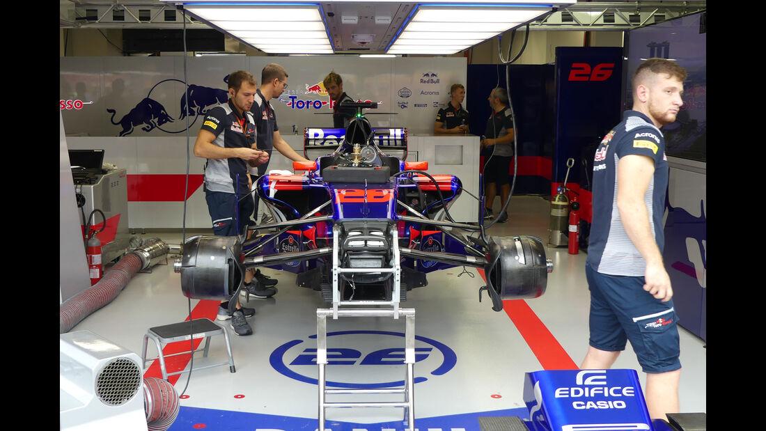 Toro Rosso - GP Singapur - Formel 1 - Freitag - 15.9.2017