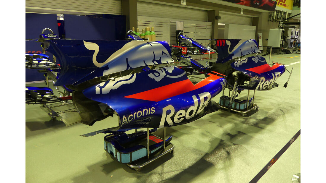 Toro Rosso - GP Singapur - Formel 1 - Mittwoch - 13.09.2017