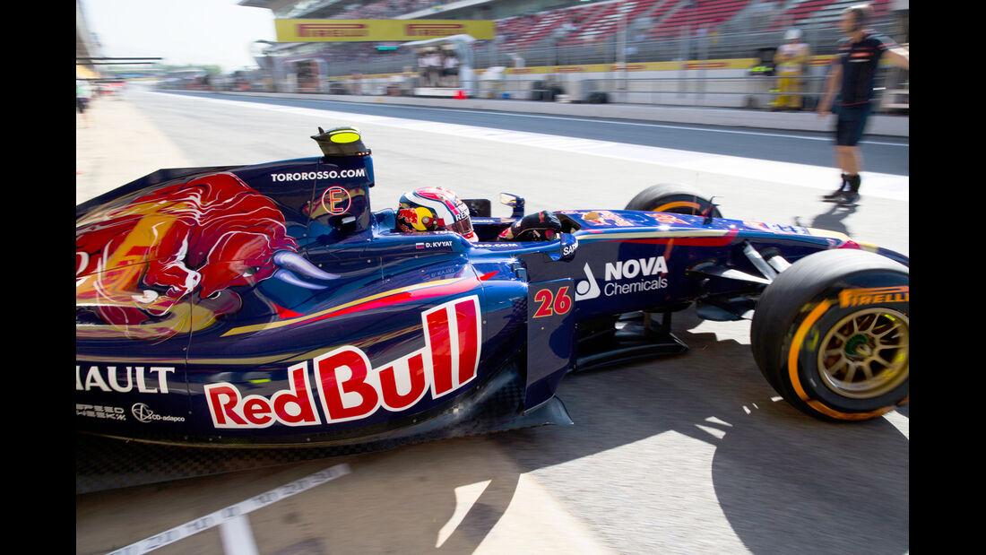 Toro Rosso - GP Spanien 2014