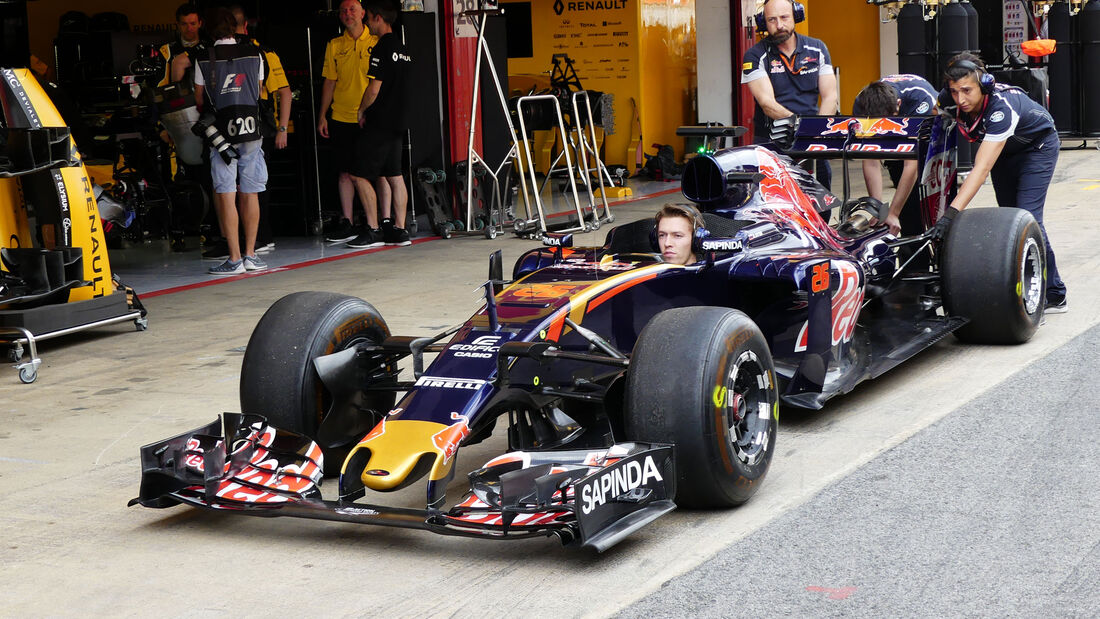 Toro Rosso - GP Spanien - Barcelona - Donnerstag - 12.5.2016