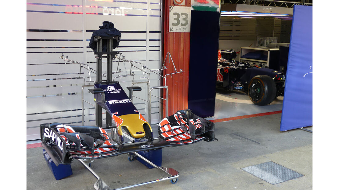 Toro Rosso - GP Spanien - Circuit de Barcelona-Catalunya - Mittwoch - 11. Mai 2016