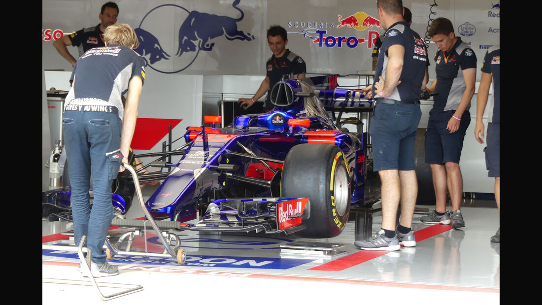 Toro Rosso - GP USA - Austin - Formel 1 - Donnerstag - 19.10.2017