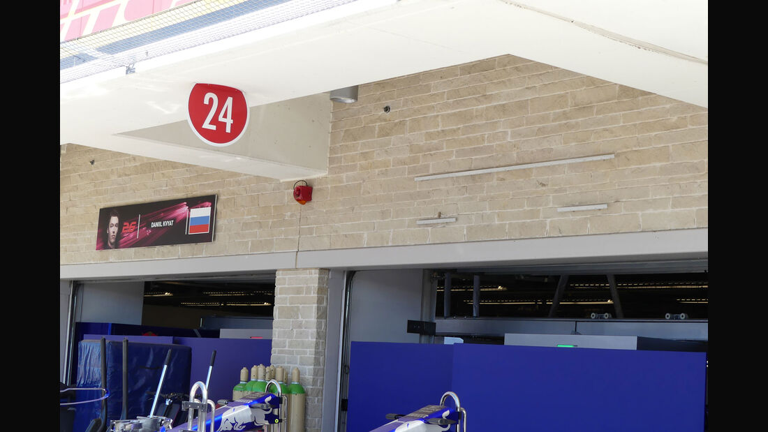 Toro Rosso - GP USA - Austin - Formel 1 - Mittwoch - 18.10.2017