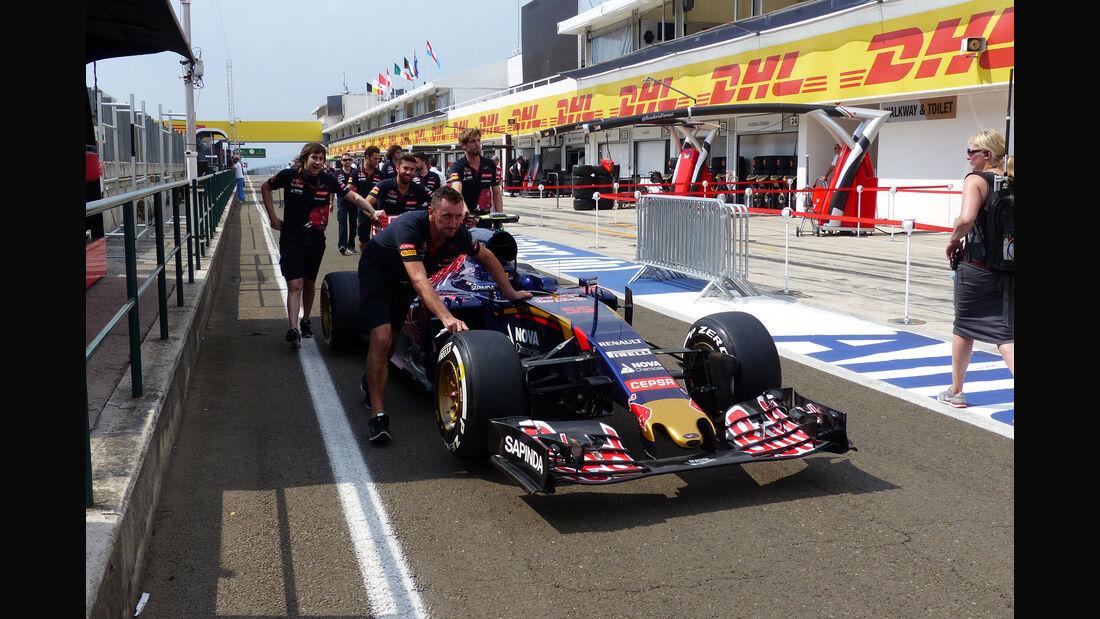Toro Rosso - GP Ungarn - Budapest - Donnerstag - 23.7.2015